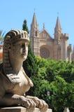 stads- för palma för de mallorca sceniskt Royaltyfri Foto