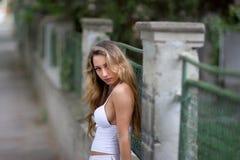 stads- flicka Royaltyfria Foton