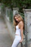 stads- flicka Royaltyfria Bilder
