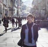 Stads- flicka Royaltyfri Foto