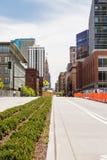 stads- gata Fotografering för Bildbyråer