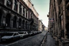 stads- gata Royaltyfri Fotografi