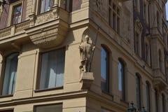 Stads gator för ‹för †för ‹för †för arkitekturstad Arkivfoton