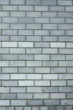 Stads- grå tegelstenvägg Royaltyfri Fotografi