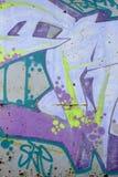 stads- grafitti Arkivbild