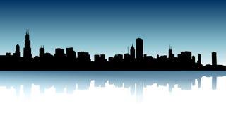 stads- horisonter Arkivbild