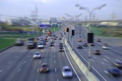 stads- huvudväg Arkivfoto