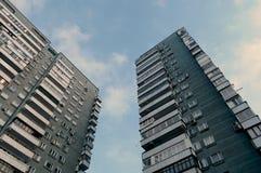 stads- hyreshus Arkivfoton