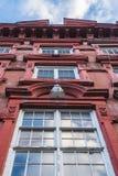 Stads- hyreshusar i Manhattan royaltyfri foto
