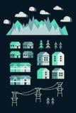 Stads infographic elementen vector illustratie