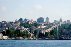 stads- istanbul livstidshav Arkivfoton