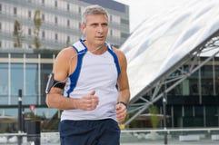 Stads- jogga arkivbilder