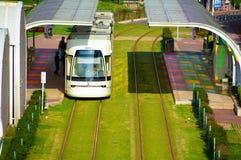 Stads- kollektivtrafiklättheter Fotografering för Bildbyråer