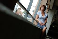 stads- kvinna fotografering för bildbyråer