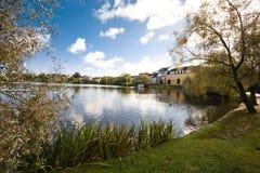 stads- lake Royaltyfria Bilder
