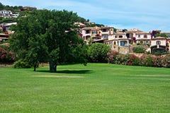 Stads- landskap av Cannigione Royaltyfria Foton