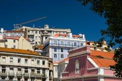 Stads- landskap, hus Arkivbilder