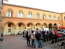 Stads- landskap i Ferrara Arkivbild