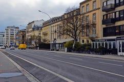 Stads- landskap, mångfalden av arkitekturen för stads` s, Royaltyfri Fotografi