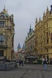 Stads- landskap, mångfalden av arkitekturen för stads` s Royaltyfri Fotografi