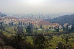 Stads- landskap, mångfalden av arkitekturen för stads` s Royaltyfria Foton