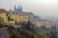 Stads- landskap, mångfalden av arkitekturen för stads` s Arkivbilder