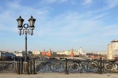 Stads- landskap. Moskva Ryssland Royaltyfri Foto