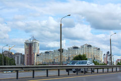 stads- liggande Fotografering för Bildbyråer