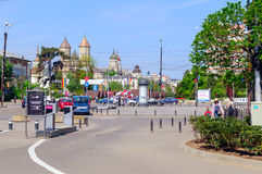 stads- liggande Arkivbilder