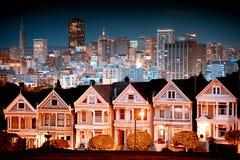 Stads- liggande San Francisco Royaltyfri Fotografi