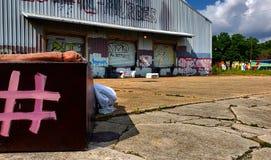 Stads- liv för sidosikt arkivbild
