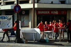 Stads- liv i Seville 13 Fotografering för Bildbyråer