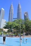 Stads- liv Kuala Lumpur Royaltyfria Bilder