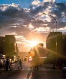 stads- livstid Arkivfoton