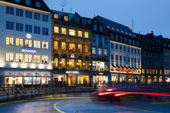 Stads- ljus av Munich Arkivbild
