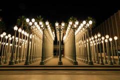 Stads- ljus, Los Angeles royaltyfria bilder