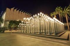 Stads- ljus, Los Angeles arkivbild