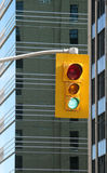 stads- ljus trafik royaltyfri bild