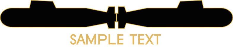 stads- logo Arkivbilder
