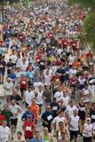 stads- löpare 2007 för stadsmalaga race Arkivfoto