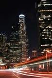 stads- natt för 2 livstid Arkivbilder