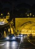 Stads- nattplats, Rome, Italien Arkivfoton