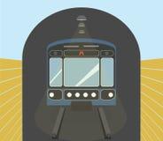 Stads ondergronds vervoer Stock Foto's