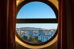 stads- panorama Royaltyfri Foto