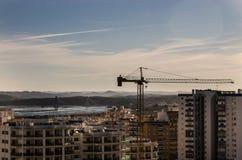 stads- panorama Arkivbild