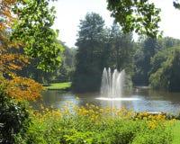 Stads-Park, Aalst Lizenzfreie Stockbilder