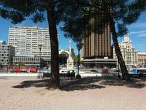 stads- parkplats Arkivbilder
