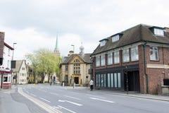 Stads- plats av stadsbadet, England Royaltyfria Bilder