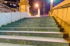 Stads- plats av trappa Arkivbild