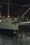 Stads- plats Buenos Aires Argentina för Puerto Madero natt Royaltyfria Foton